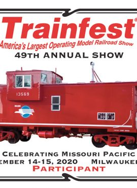 Trainfest 2020 Plaque